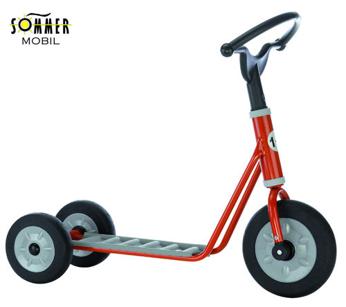 Mini Scooter Long Base Red - TOP