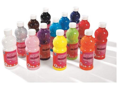 Acrylfarben Set 14 - 500 ml - Maxi Set